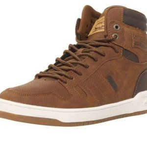 Levi's Men's Brown BB High Top Sneakers SZ 10 New